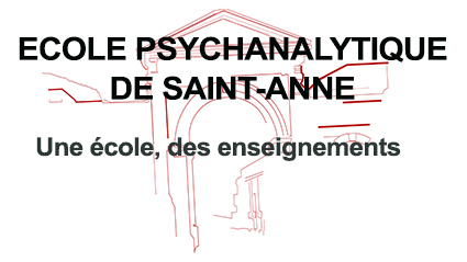 ecole psychanalytique de saint anne